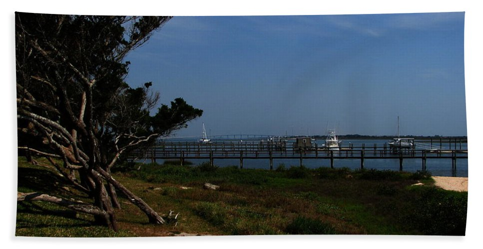 Art For The Wall...patzer Photography Beach Towel featuring the photograph Ponce De Leon by Greg Patzer