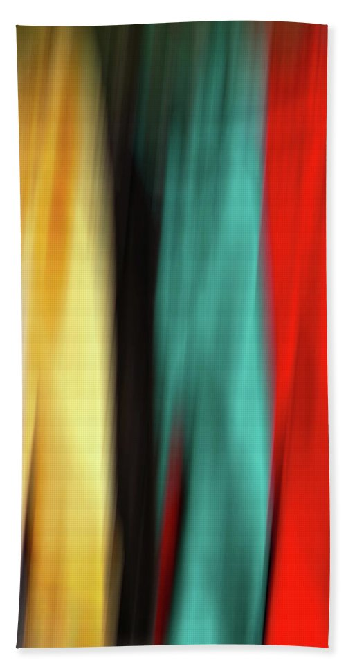 Line Beach Towel featuring the photograph Porch Clothes Line by Jerry Bernard