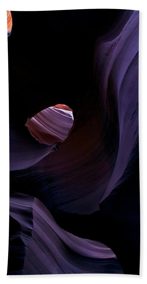 Desert Beach Towel featuring the photograph Portal by Mike Dawson