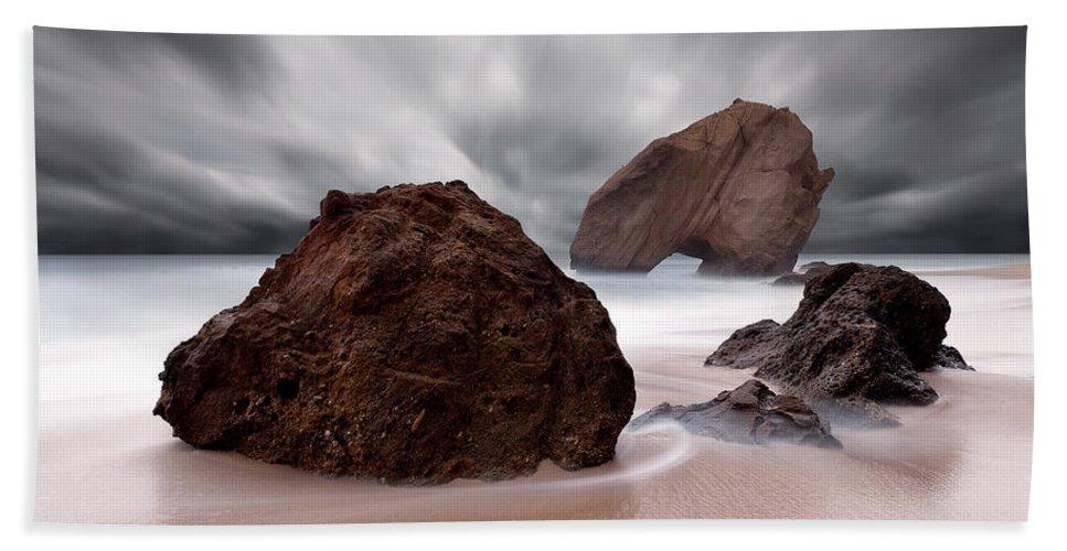 Jorgemaiaphotographer Beach Towel featuring the photograph Powerful by Jorge Maia