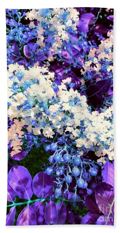 Purple Beach Towel featuring the photograph Pretty Cluster by Regina Combs