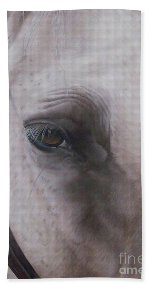 Horse Beach Towel featuring the painting Prides Eye-pride Of The Lough by Pauline Sharp