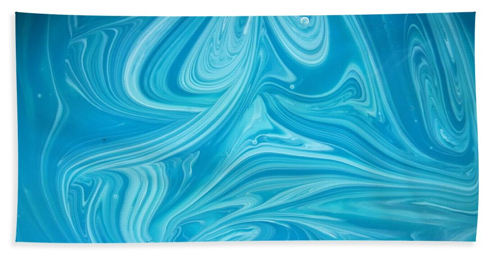 Swirls Beach Towel featuring the photograph Primer by Philip King