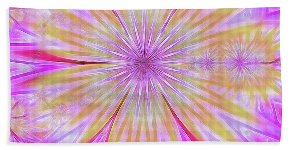Beach Towel featuring the digital art Princesswoz by Joan Flaherty