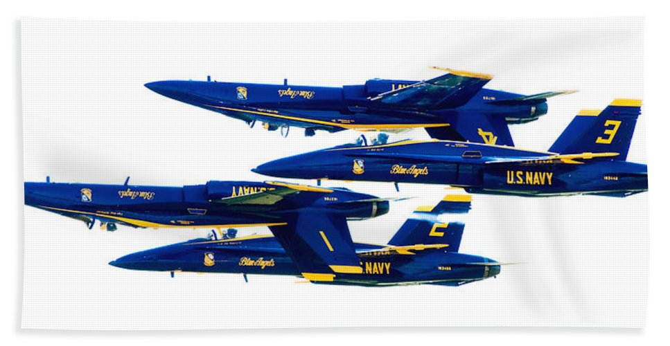 Blue Angels Beach Towel featuring the photograph Public Relations by Greg Fortier
