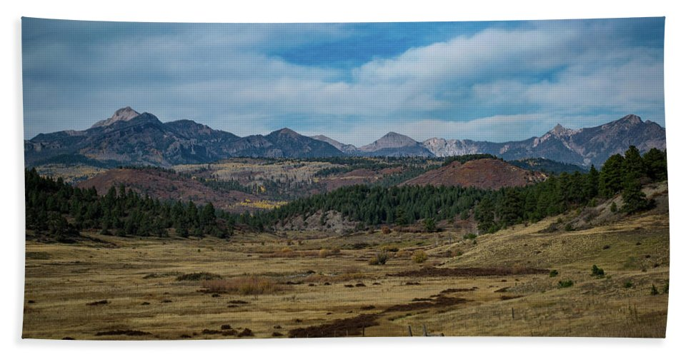 Landscape Beach Towel featuring the photograph Pure Isolation by Jason Coward