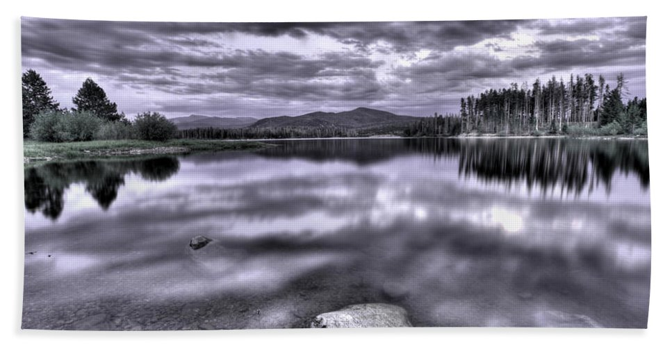 Colorado Beach Towel featuring the photograph Pure by Scott Mahon