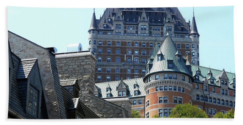 Quebec City Beach Towel featuring the photograph Quebec City 60 by Ron Kandt