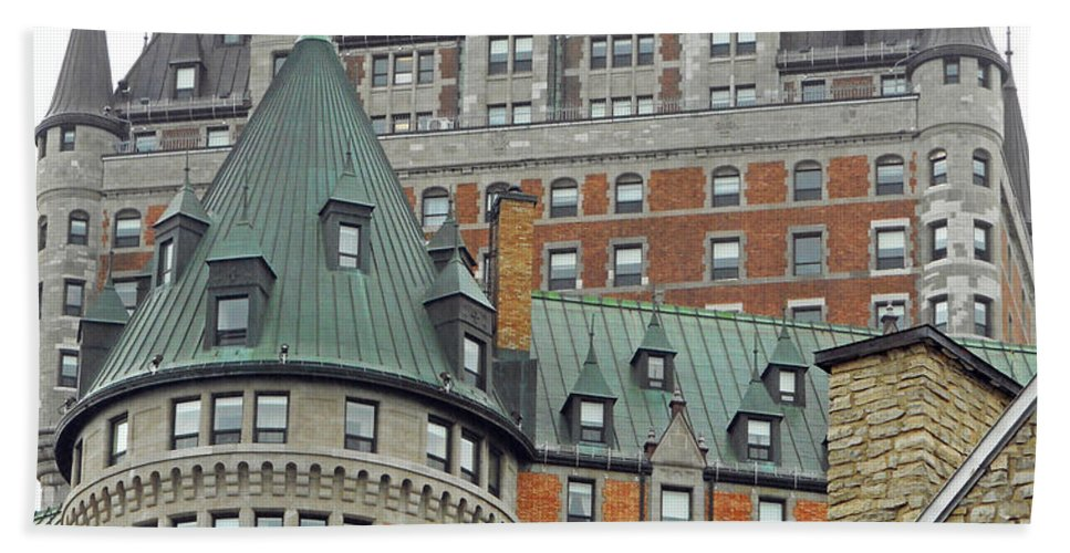 Quebec City Beach Towel featuring the photograph Quebec City 65 by Ron Kandt