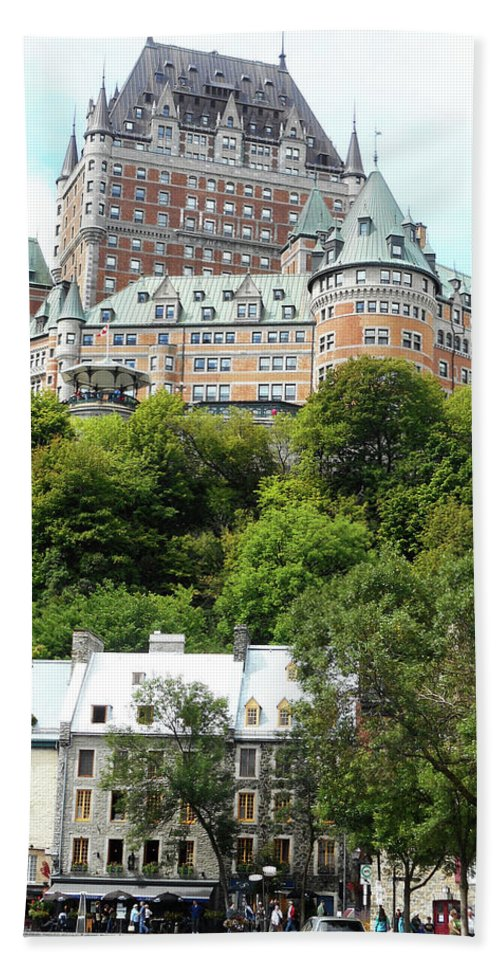 Quebec City Beach Towel featuring the photograph Quebec City 68 by Ron Kandt