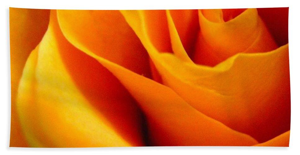 Rose Beach Sheet featuring the photograph Queen Rose by Rhonda Barrett