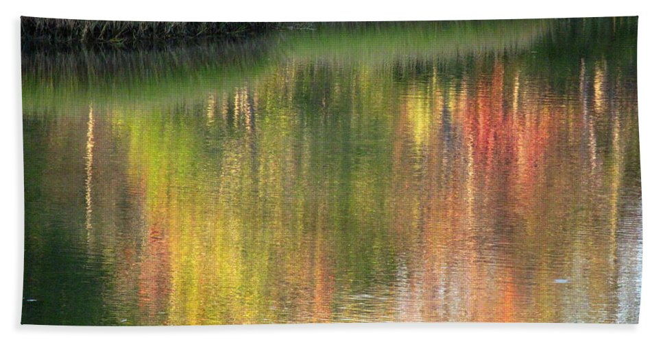 Water Beach Towel featuring the photograph Quiet Inspiration by Sybil Staples