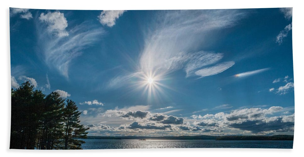 Landscape Beach Towel featuring the photograph Raging Cotton by Ronald Raymond