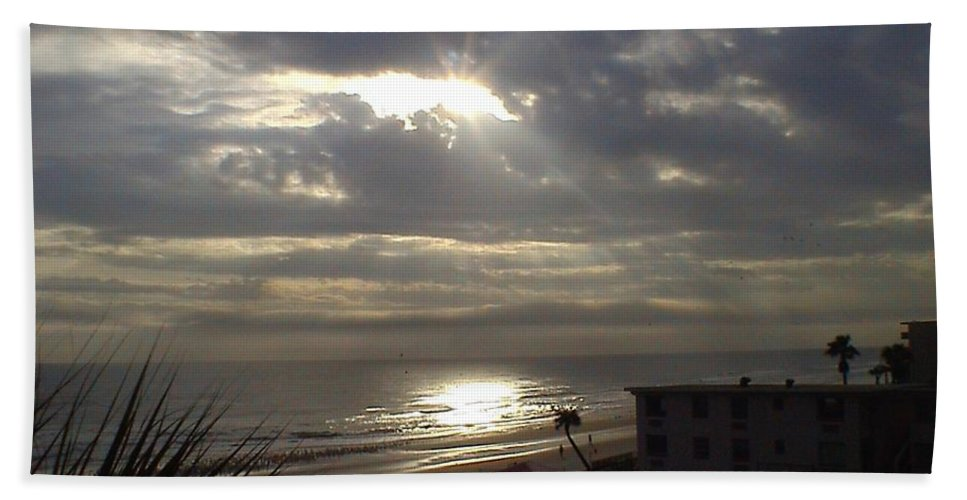 Landscape Beach Towel featuring the photograph Ray Of Light by Charleen Treasures