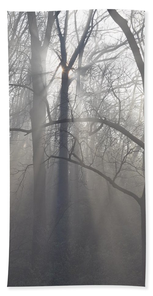 Malvern Beach Towel featuring the photograph Rays Of Hope by Bill Cannon