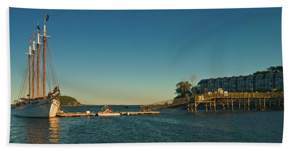 margaret Todd Beach Towel featuring the photograph Ready To Sail by Paul Mangold