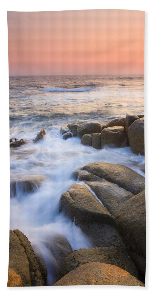 Sunrise Beach Sheet featuring the photograph Red Sky At Morning by Mike Dawson