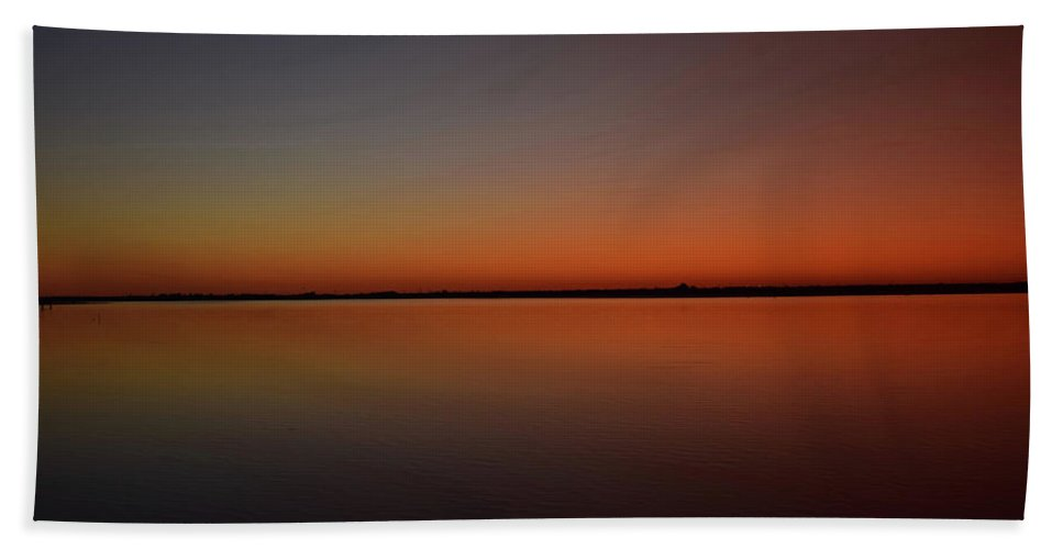 Beautiful Beach Towel featuring the photograph Reflections by Brandy Stinchcomb