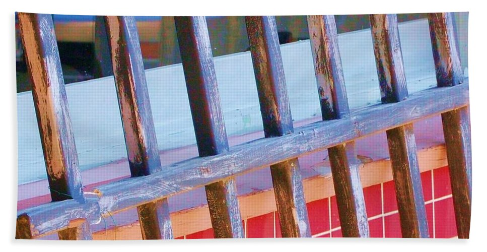 Gate Beach Sheet featuring the photograph Reflections by Debbi Granruth