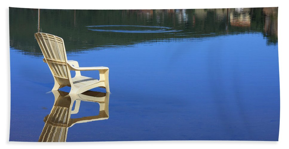 Water Beach Towel featuring the photograph Reflections Fine Art Photography Print by James BO Insogna