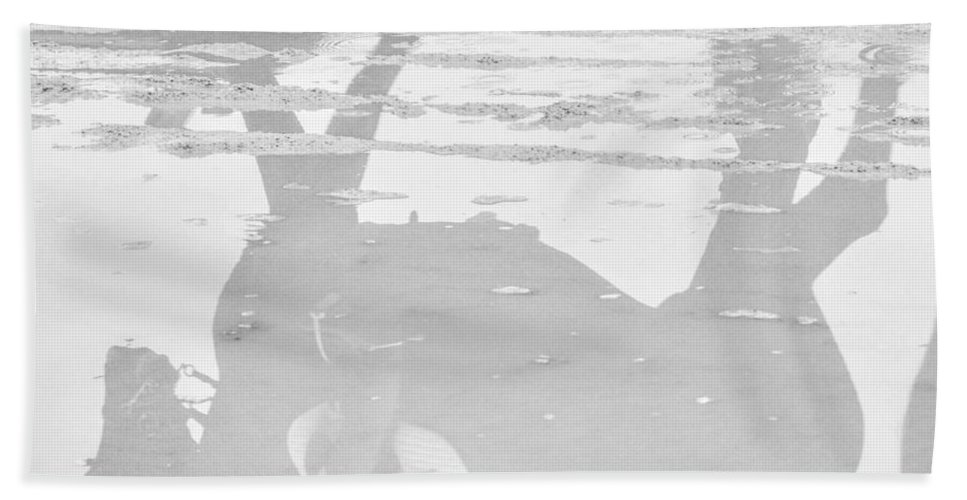 Horse Beach Sheet featuring the photograph Reflections In Dressage by Dressage Design