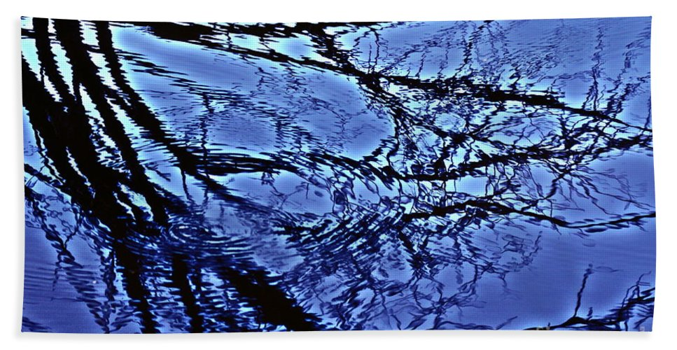 Reflections Beach Towel featuring the photograph Reflections by Joanne Smoley