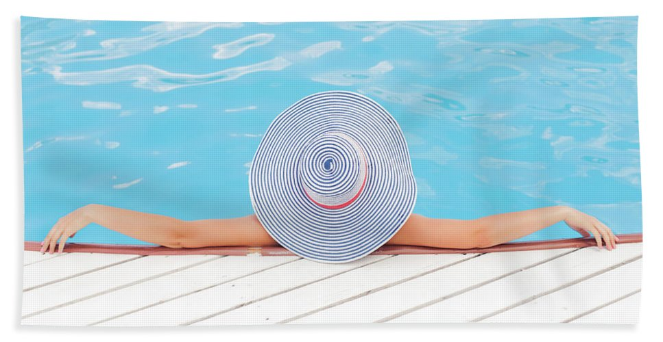 Adult Beach Towel featuring the photograph Relaxing by Happy Home Artistry