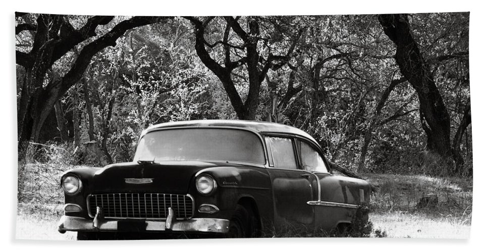 Americana Beach Towel featuring the photograph Resting Amongst The Oaks by Marilyn Hunt