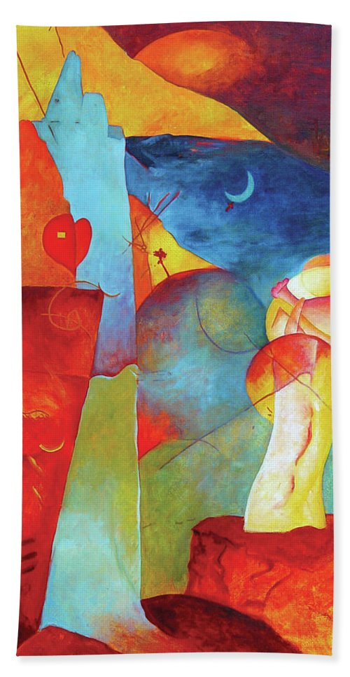 Resurrection Beach Towel featuring the painting Resurrection Of The Magi by David Derr