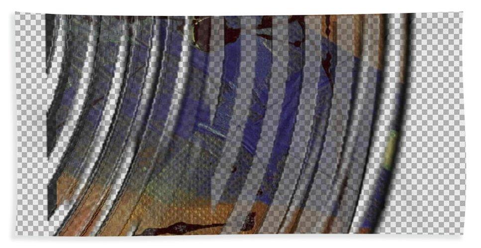 Ribs Beach Towel featuring the digital art Rib Roast by Angela L Walker