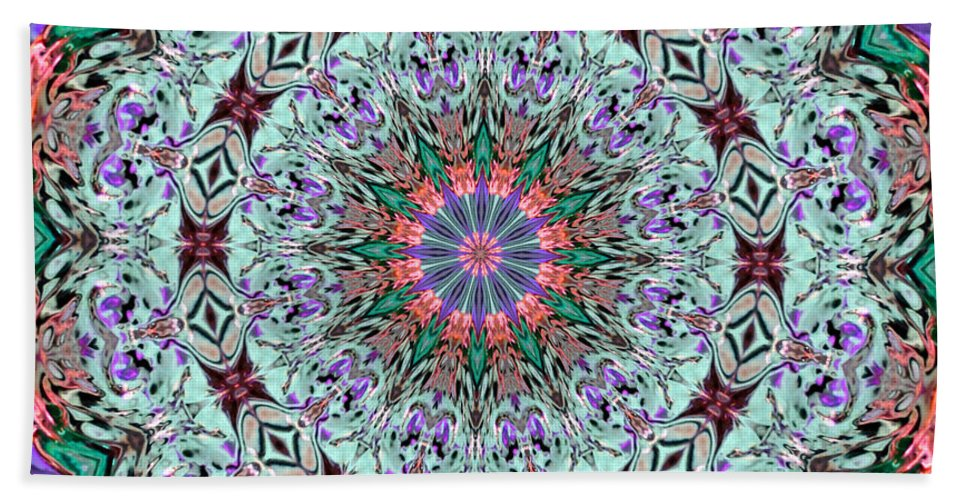 Kaleidoscope Beach Towel featuring the photograph Ribbons And Lace by Kristin Elmquist
