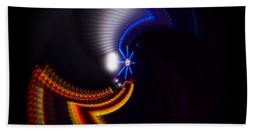 Chaos Beach Towel featuring the photograph Ride by Charles Stuart