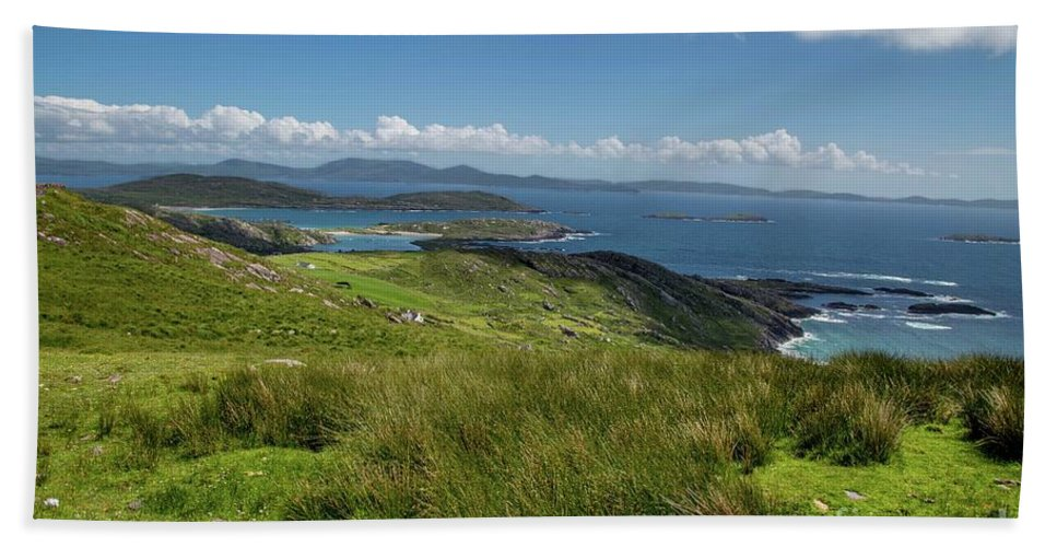 Coast Beach Towel featuring the photograph Ring Of Kerry by Donna Barker