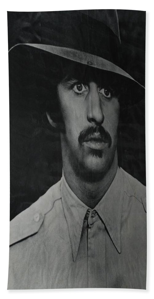Ringo Starr Beach Towel featuring the photograph Ringo by Rob Hans