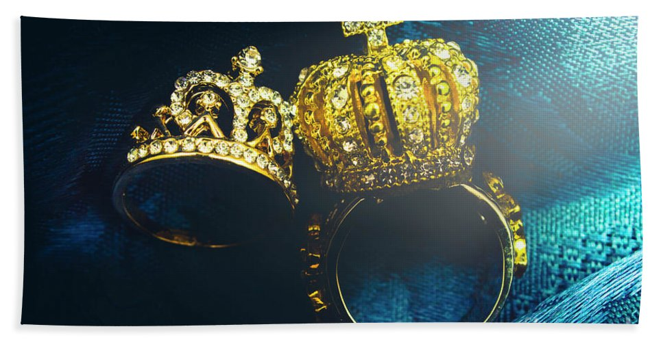 Royal Beach Towel featuring the photograph Rings Of Nobility by Jorgo Photography - Wall Art Gallery