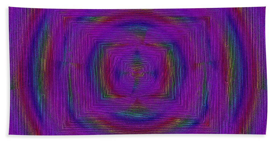 Ripples Beach Towel featuring the digital art Ripples In Time by Tim Allen