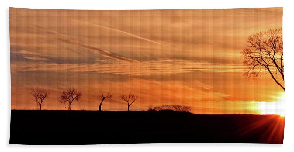 Sunrise Beach Towel featuring the photograph Risen by Scott Mahon