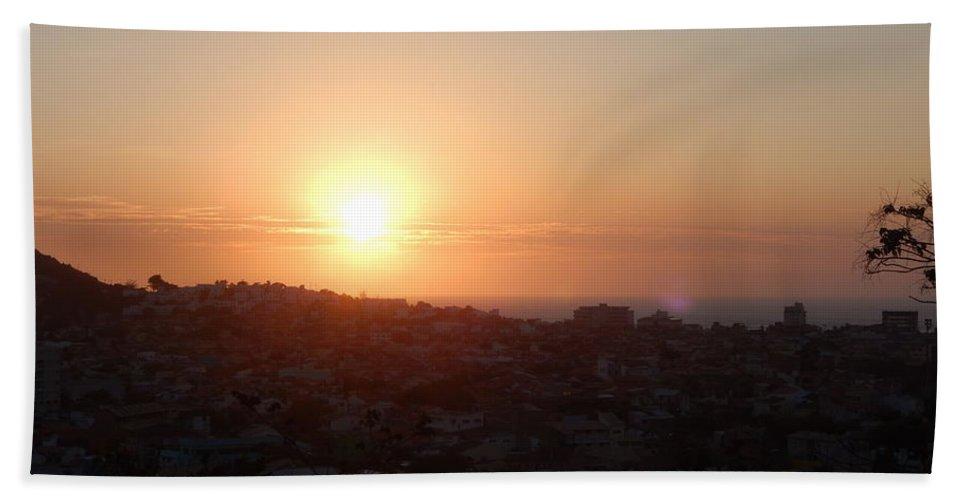Sun Beach Towel featuring the photograph Riviera by Beto Machado
