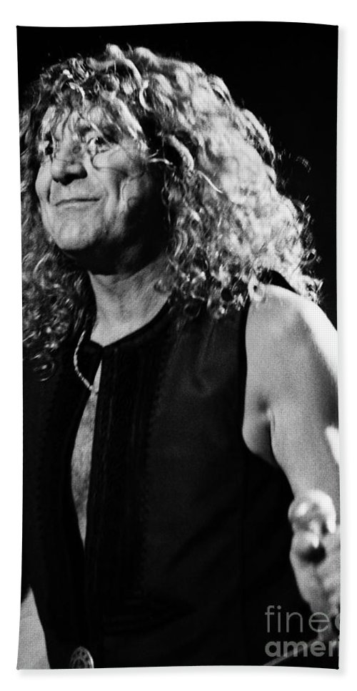 Robert Plant Beach Towel featuring the photograph Robert Plant-0039 by Timothy Bischoff