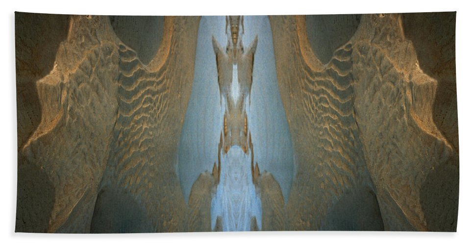 Rocks Beach Towel featuring the photograph Rock Gods Seabird Of Old Orchard by Nancy Griswold