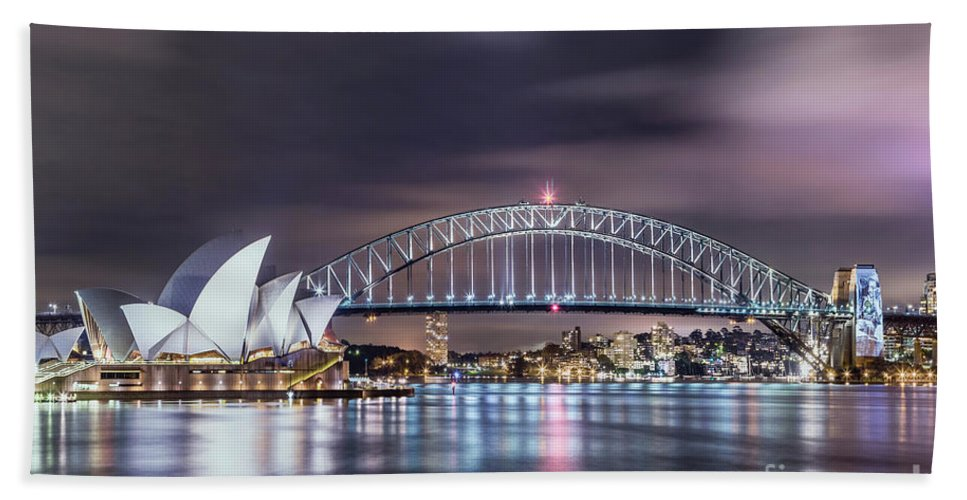Kremsdorf Beach Towel featuring the photograph Rock Into The Night by Evelina Kremsdorf