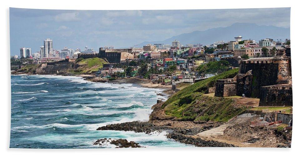 Beach Beach Towel featuring the photograph Rocky Coast Of Puerto Rico by Darryl Brooks