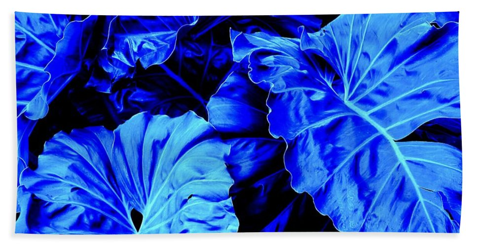 Blue Beach Towel featuring the photograph Romney Blue by Ian MacDonald