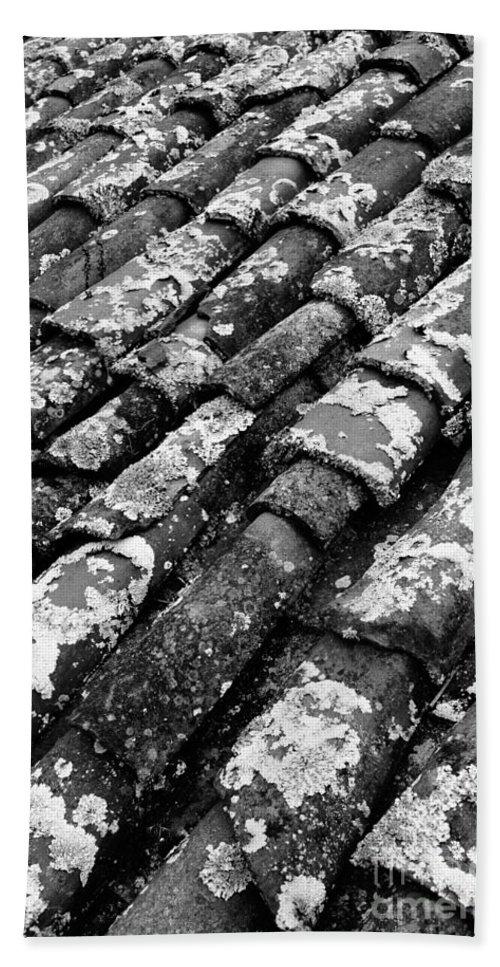 Ceramics Beach Sheet featuring the photograph Roof Tiles by Gaspar Avila