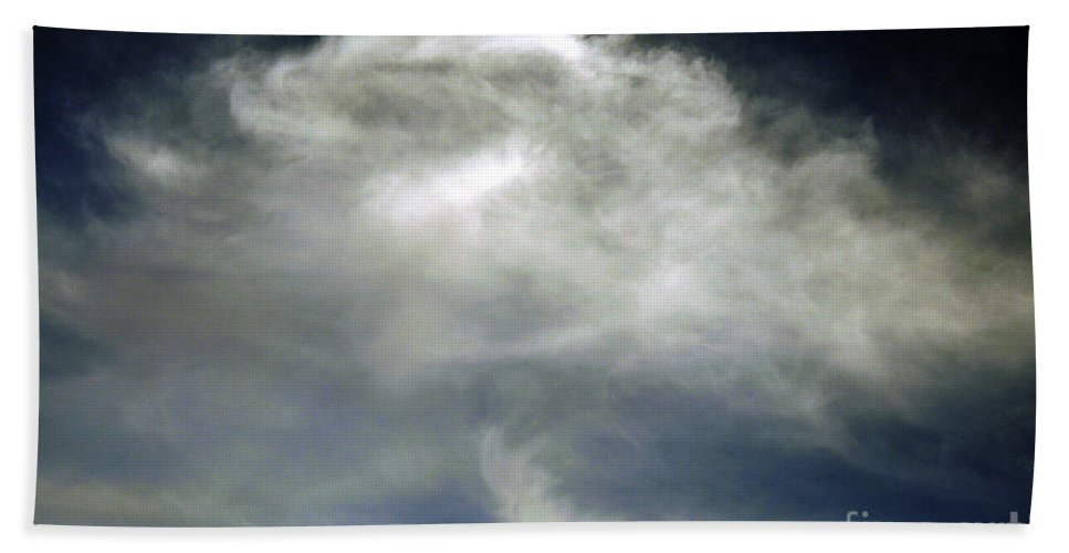 Clay Beach Towel featuring the photograph Rose Cloud by Clayton Bruster