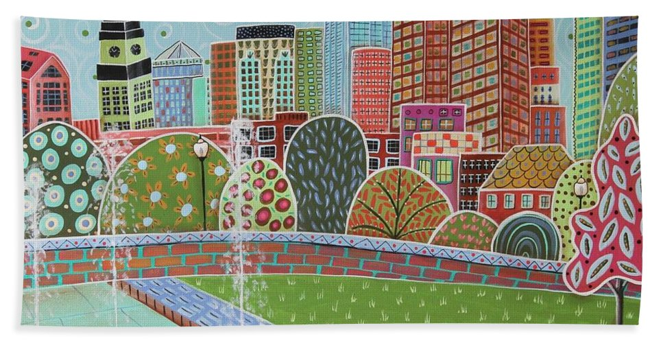 Rose Fitzgerald Kennedy Greenway Boston Beach Towel For Sale By