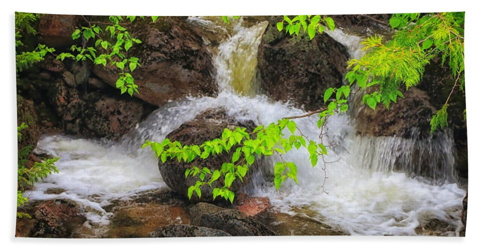 Baxter State Park Beach Towel featuring the photograph Rugged Landscape by Elizabeth Dow