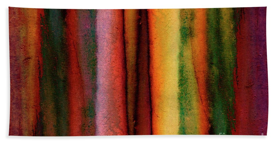 Texture Beach Towel featuring the photograph Rusty Iron by Michal Boubin