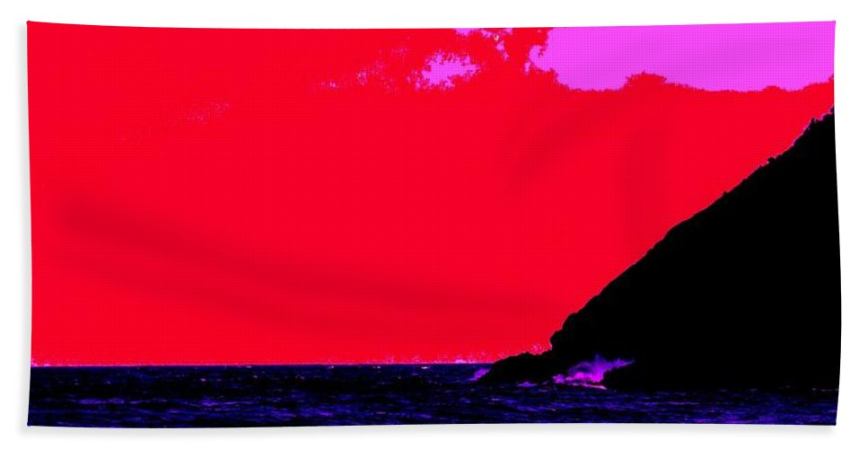 Morning Beach Sheet featuring the photograph Sailor Take Warning by Ian MacDonald