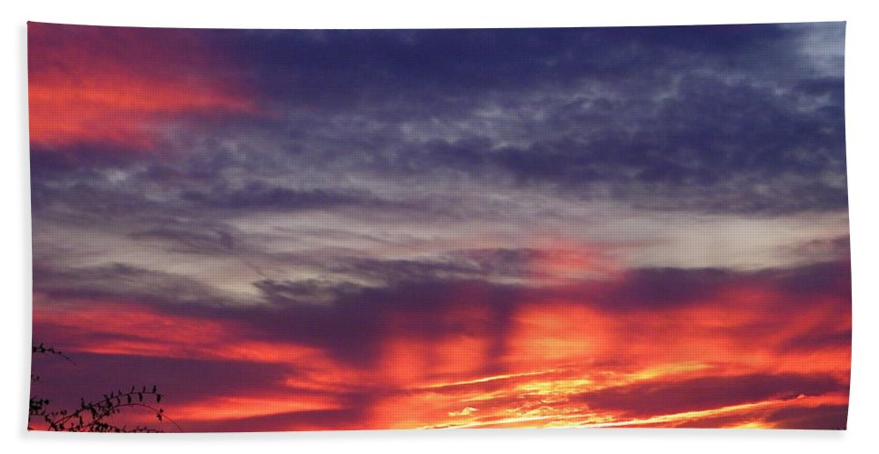 Sunset Beach Towel featuring the photograph Sailor's Delight by Gale Cochran-Smith